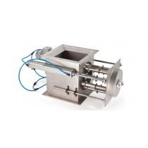 Separador con barras magnéticas rotativas