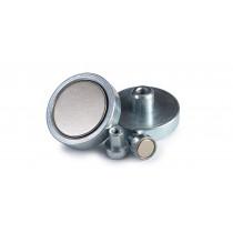 Basi Magnetiche in Neodimio con filettatura interna